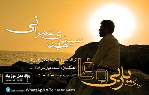 آهنگ جدید و بسیار زیبا و شنیدنی از سید مهدی عمرانی بنام بره ای یار بی وفا