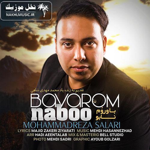 آهنگ جدید و بسیار زیبا و شنیدنی از محمدرضا سالاری بنام باورم نابو